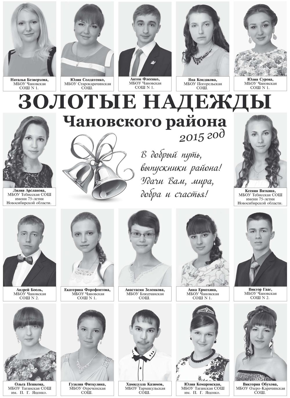 медалисты - 2015