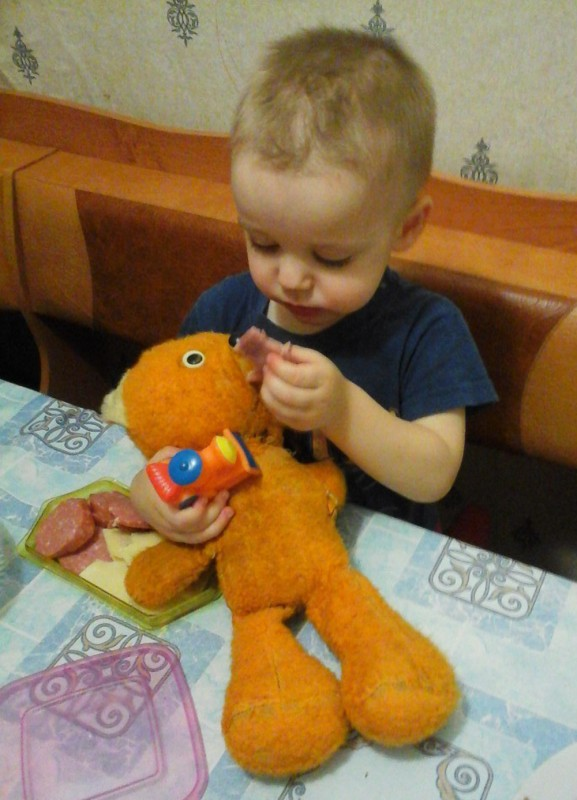Александр Дейник (2 года), п.Озеро-Карачи