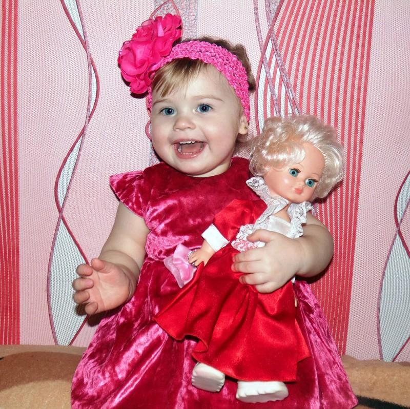 Елизавета Грязнова (1 год 4 месяца), р.п.Чаны