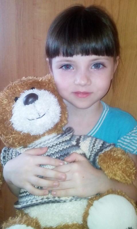 Настя Ситникова (5 лет), р.п.Чаны