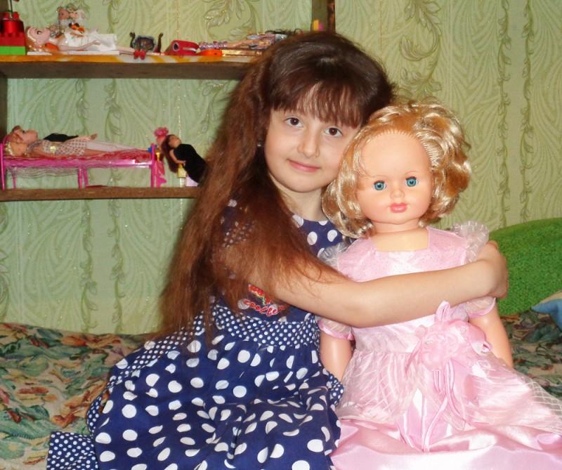 Полина Усольцева (7 лет), с. Полтавка