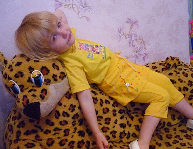 Саша Давыдова (4 года), п. Песцы