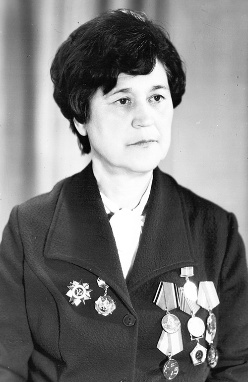 Жендарова Зинаида Петровна