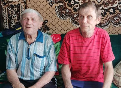 Сильнягин Виктор Алексеевич с сыном.